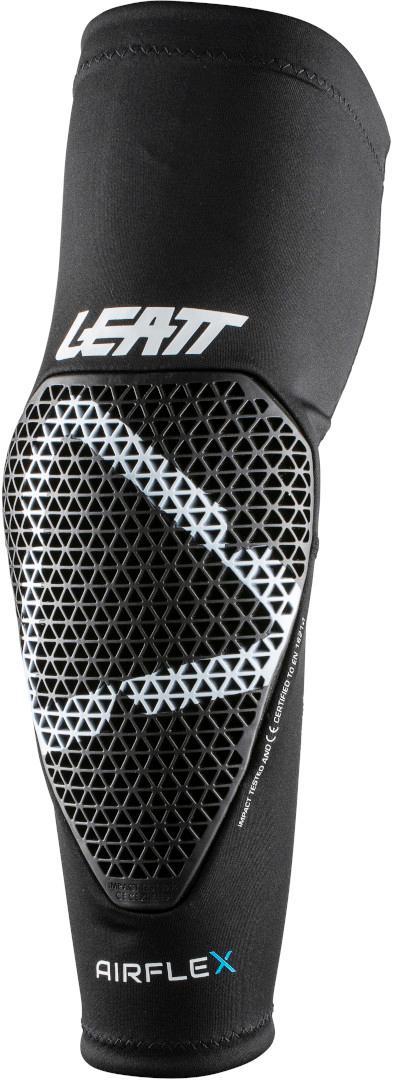 Leatt AirFlex Ellbogenprotektoren, schwarz, Größe L, schwarz, Größe L
