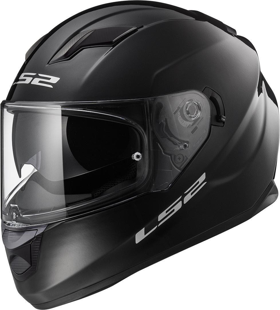 LS2 FF320 Stream Evo Helm, schwarz, Größe 2XL, schwarz, Größe 2XL