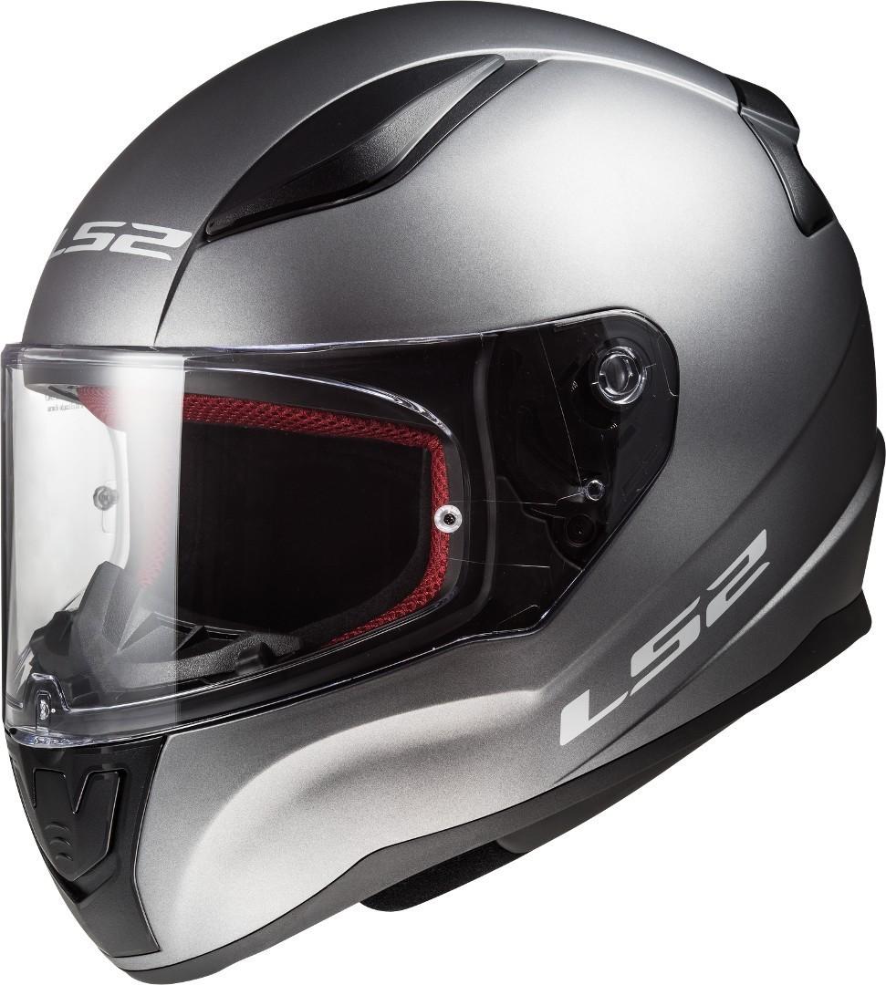 LS2 FF353 Rapid Helm, silber, Größe S, silber, Größe S
