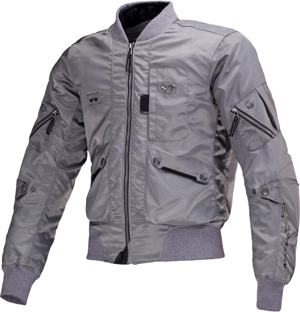 Macna Bastic Textiljacke, grau, Größe 3XL, grau, Größe 3XL