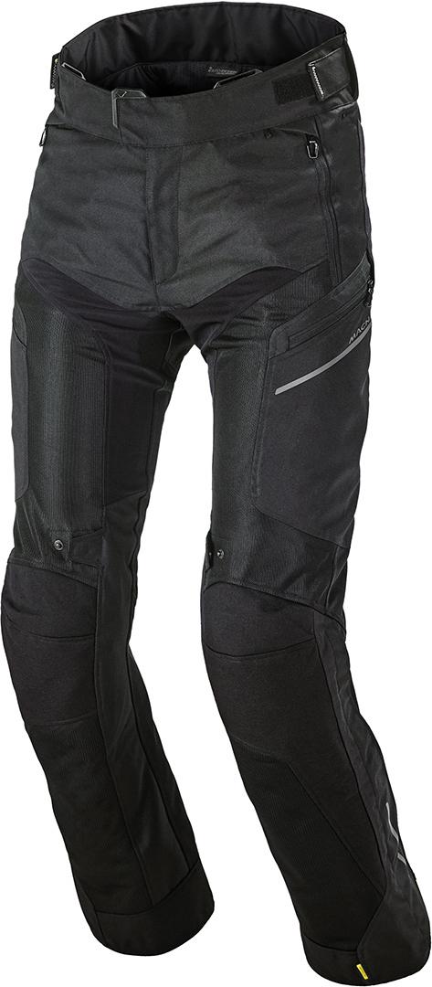 Macna Bora Motorrad Textilhose, schwarz, Größe XL, schwarz, Größe XL