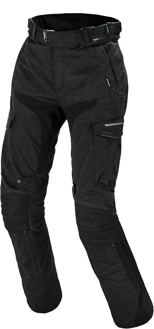 Macna Novado Damen Motorrad Textilhose, schwarz, Größe XS, schwarz, Größe XS