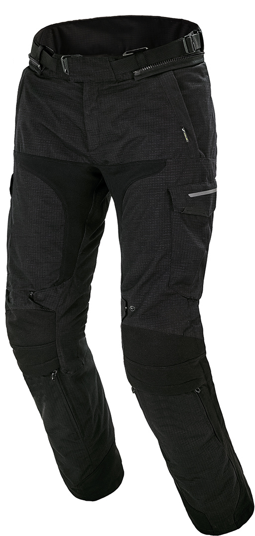 Macna Novado Motorrad Textilhose, schwarz, Größe S, schwarz, Größe S