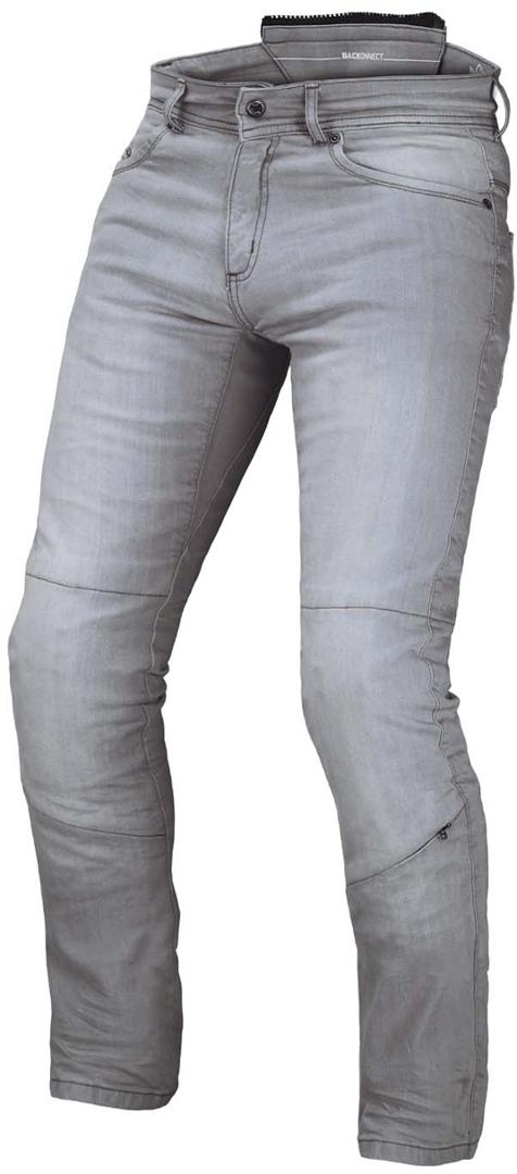 Macna Stone Motorrad Jeanshose, grau, Größe 28, grau, Größe 28
