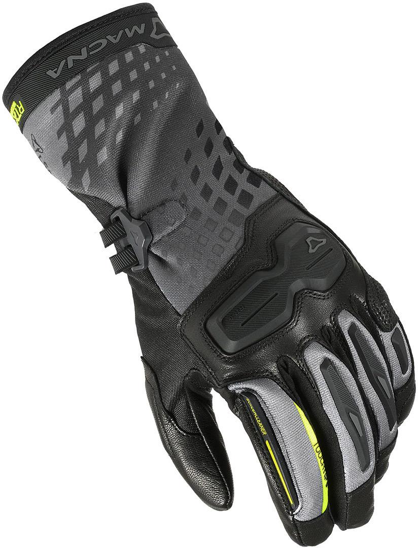 Macna Terra Damen Motorradhandschuhe, schwarz, Größe L, schwarz, Größe L