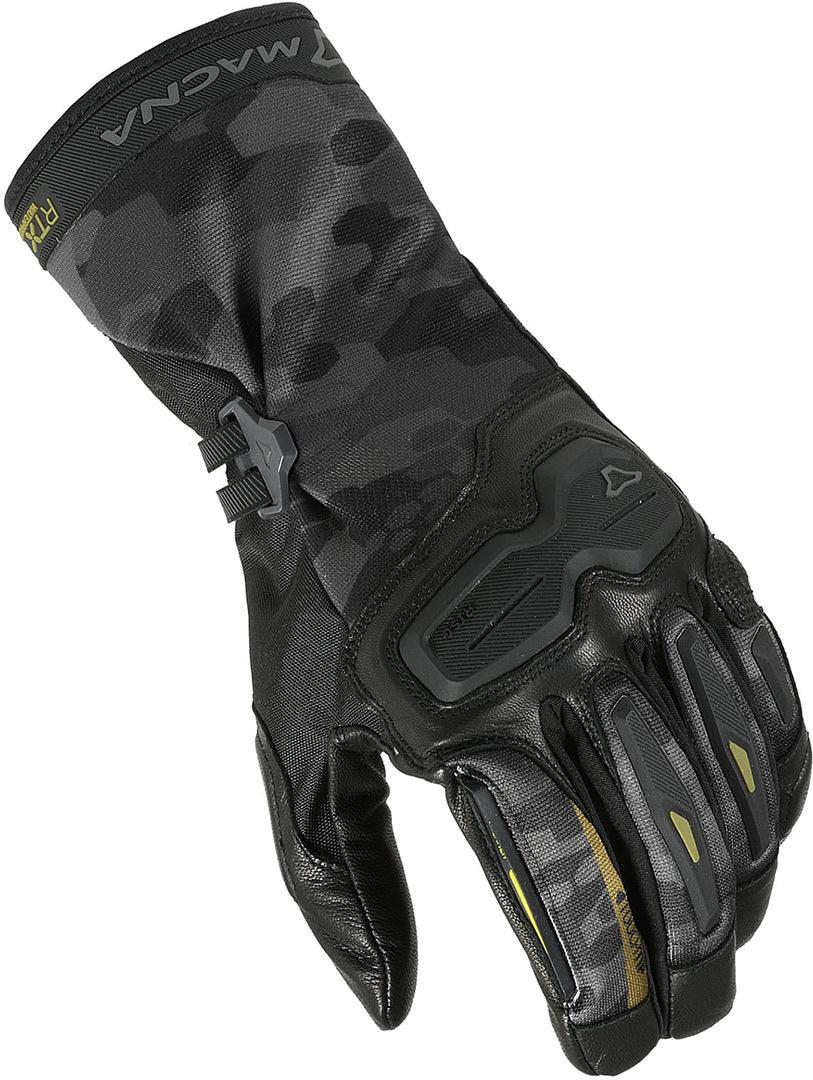 Macna Terra Motorradhandschuhe, schwarz, Größe M, schwarz, Größe M