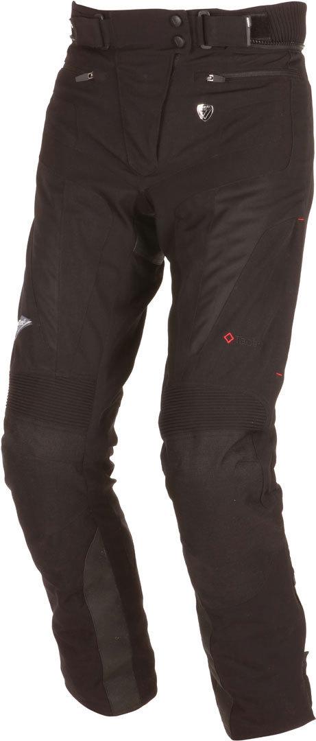 Modeka Belastar Lady Motorradhose, schwarz, Größe S 38 für Frauen, schwarz, Größe S 38