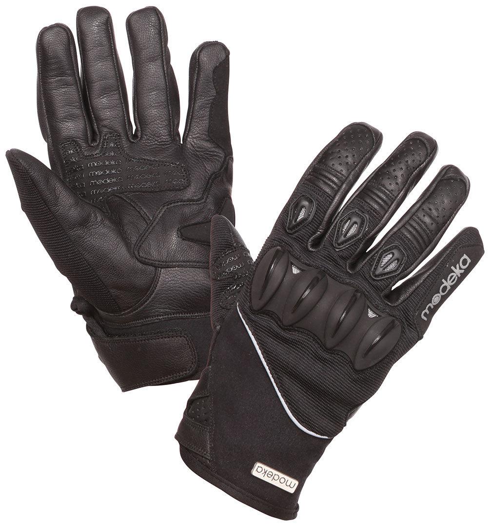 Modeka Derrek Handschuhe, schwarz, Größe M L, schwarz, Größe M L