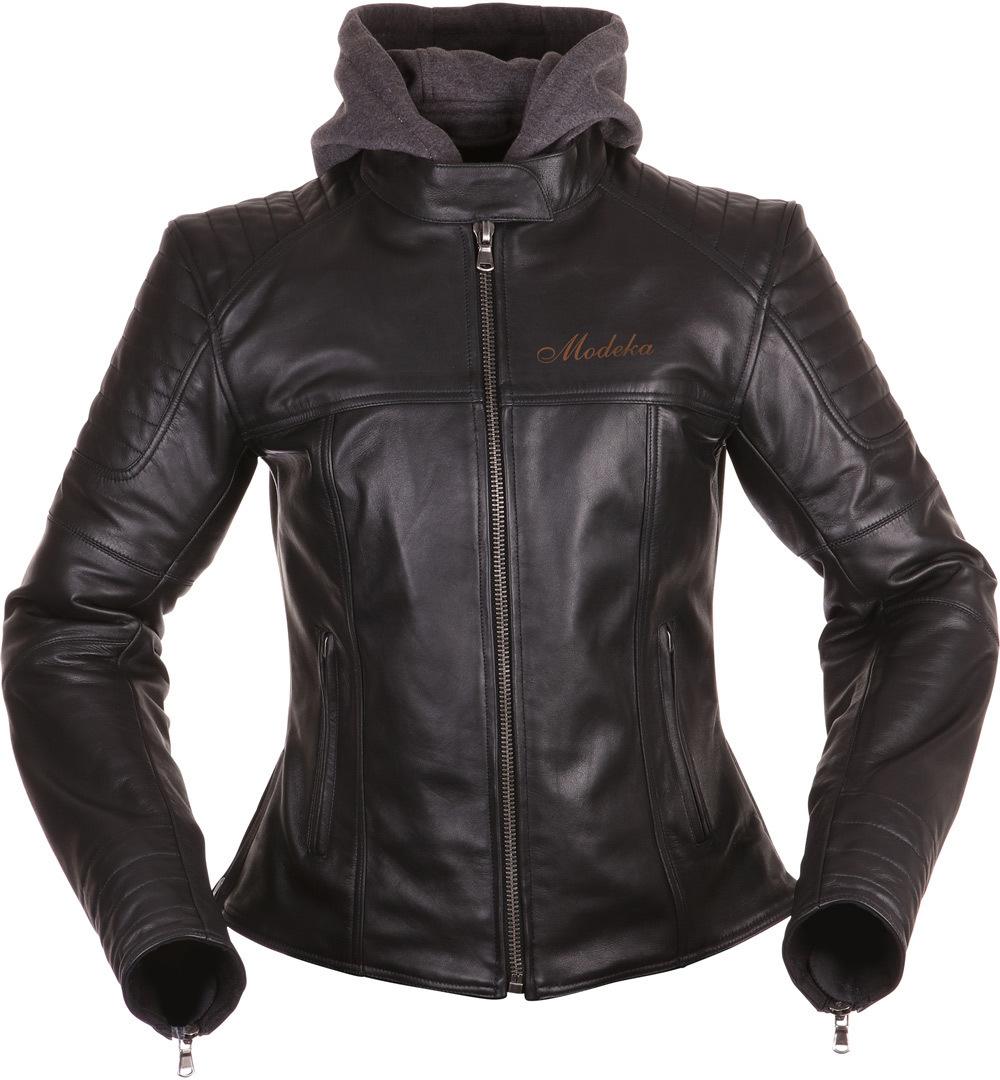 Modeka Edda Damenjacke, schwarz, Größe 44, schwarz, Größe 44