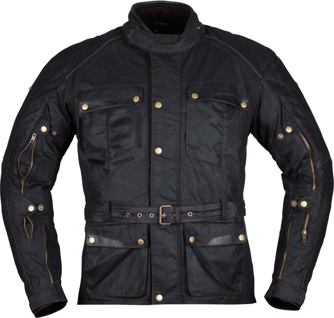 Modeka Glasgow Air Motorrad Textiljacke, schwarz, Größe 3XL, schwarz, Größe 3XL