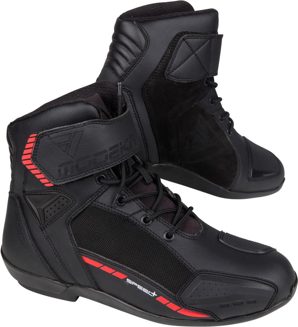 Modeka Kyne Motorradstiefel, schwarz, Größe 37, schwarz, Größe 37