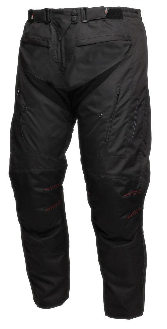 Modeka Manda Damen Textilhose, schwarz, Größe 48, schwarz, Größe 48