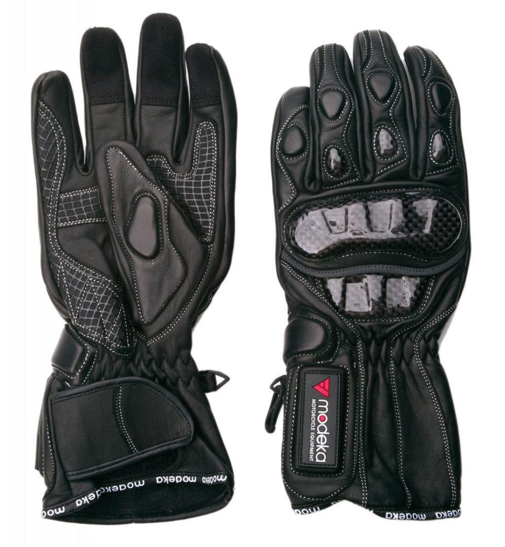 Modeka Sportie Handschuhe, schwarz, Größe S, schwarz, Größe S