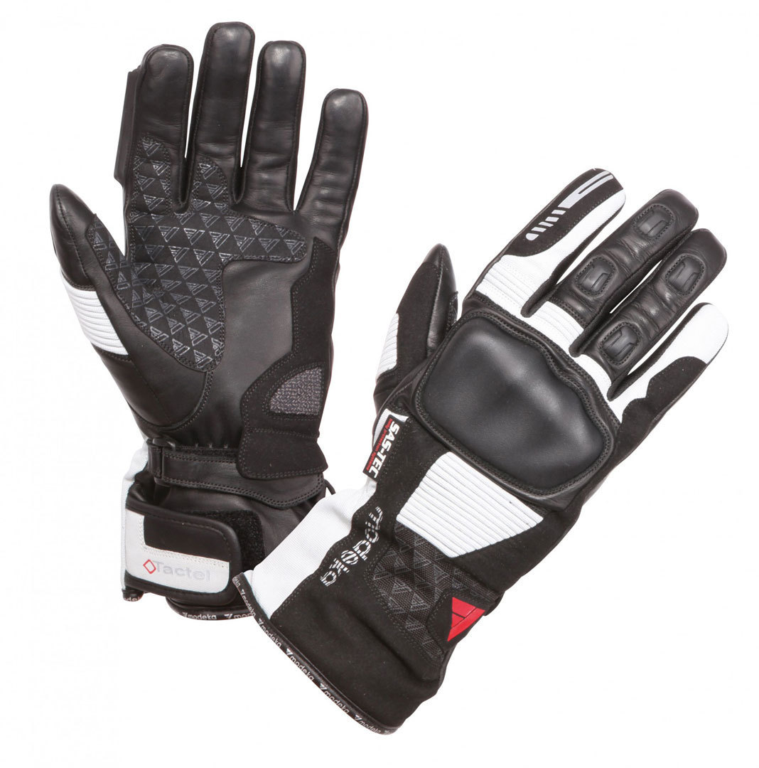 Modeka Tacoma Handschuhe, schwarz-grau, Größe 5XL, schwarz-grau, Größe 5XL