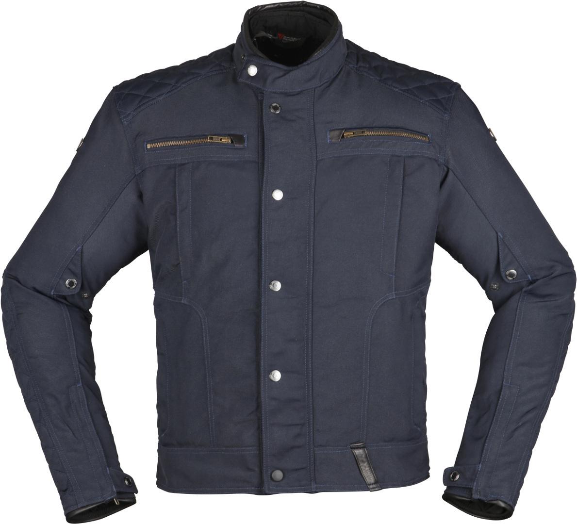 Modeka Thiago Motorrad Textiljacke, blau, Größe 6XL, blau, Größe 6XL