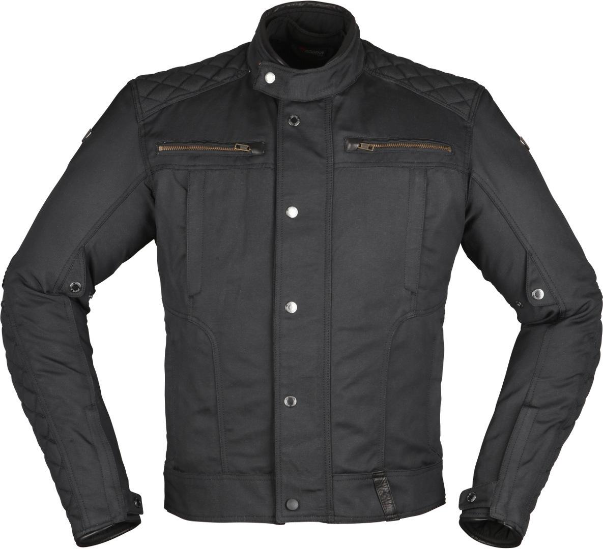 Modeka Thiago Motorrad Textiljacke, schwarz, Größe 5XL, schwarz, Größe 5XL