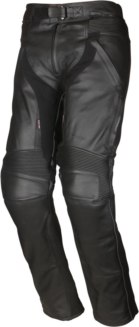 Modeka Tourrider II Motorrad Lederhose, schwarz, Größe 54, schwarz, Größe 54