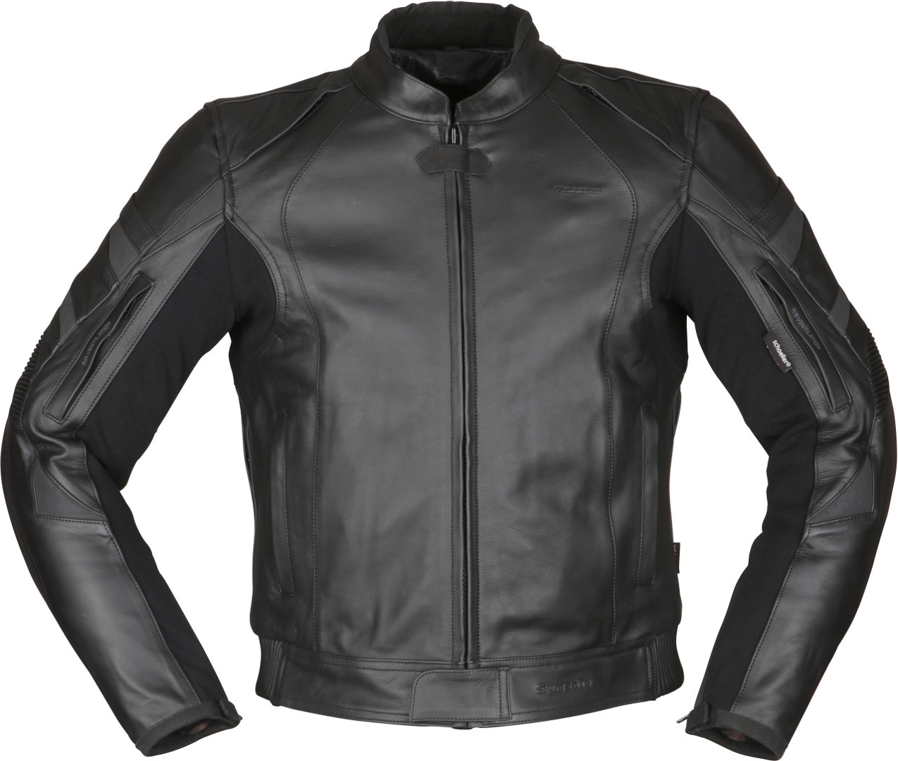 Modeka Tourrider II Motorrad Lederjacke, schwarz, Größe 2XL, schwarz, Größe 2XL