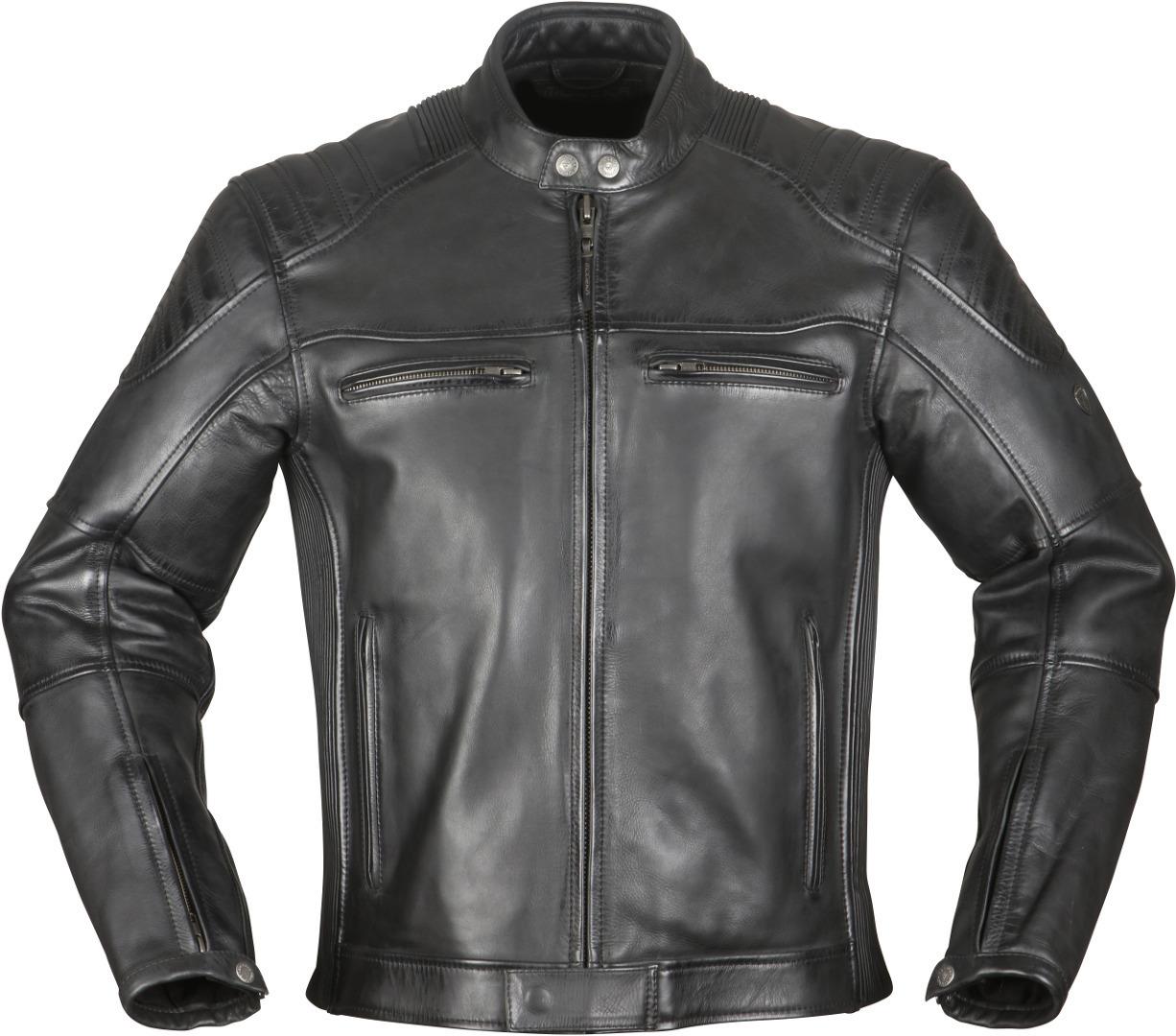 Modeka Vincent Motorrad Lederjacke, schwarz, Größe 2XL, schwarz, Größe 2XL