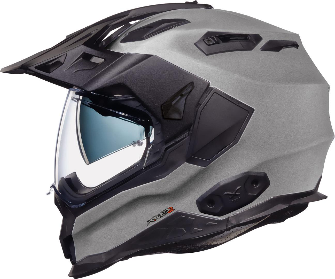 Nexx X.WED 2 Plain Helm, silber, Größe XS, silber, Größe XS