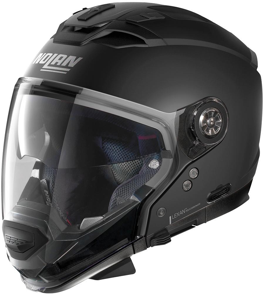Nolan N70-2 GT Classic N-Com Helm, schwarz, Größe L, schwarz, Größe L
