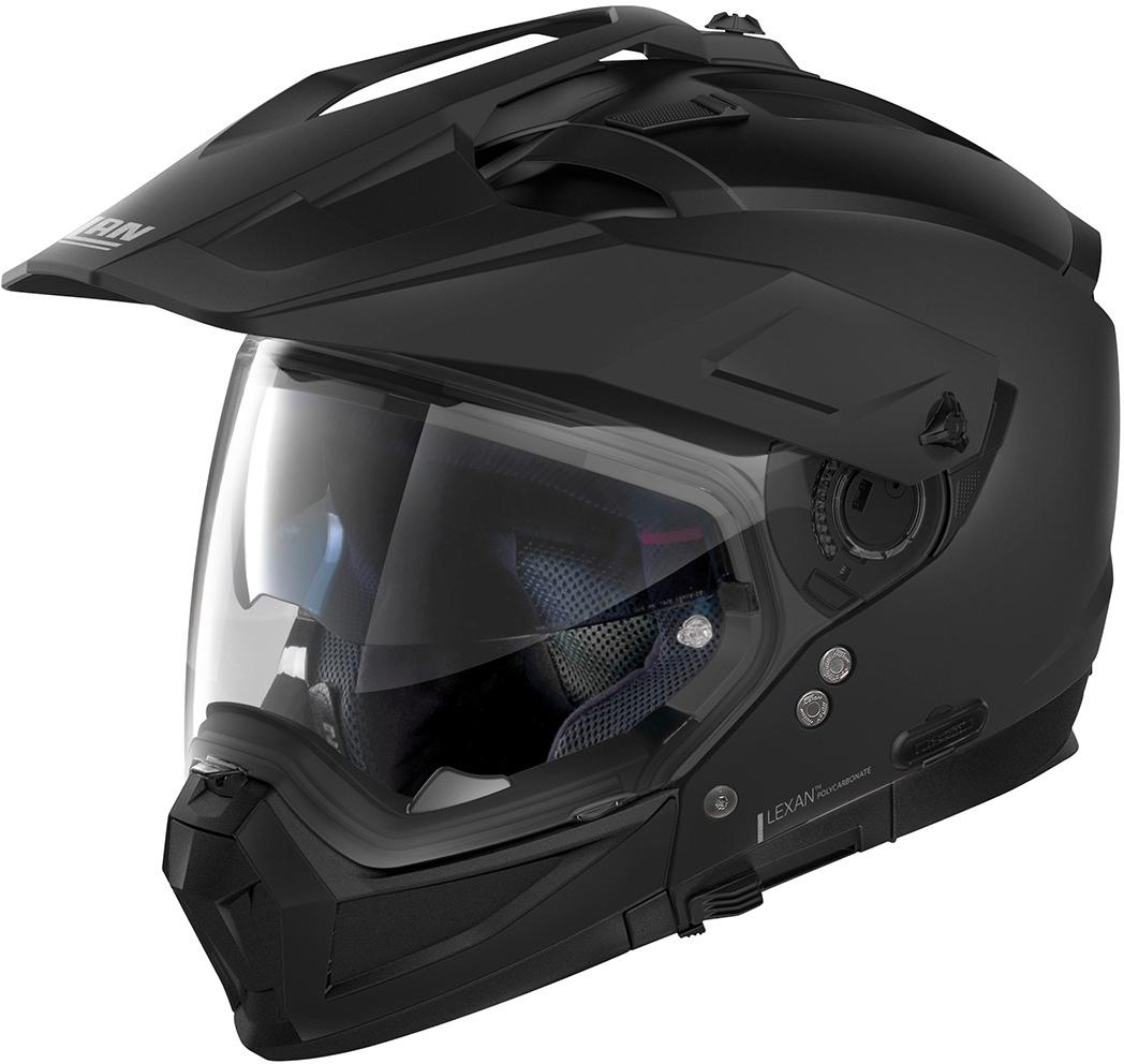 Nolan N70-2 X Classic N-Com Helm, schwarz, Größe XS, schwarz, Größe XS