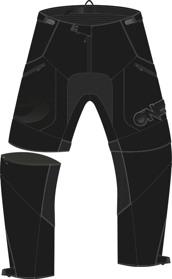 Oneal Apocalypse Motocross Hose, schwarz, Größe 38, schwarz, Größe 38