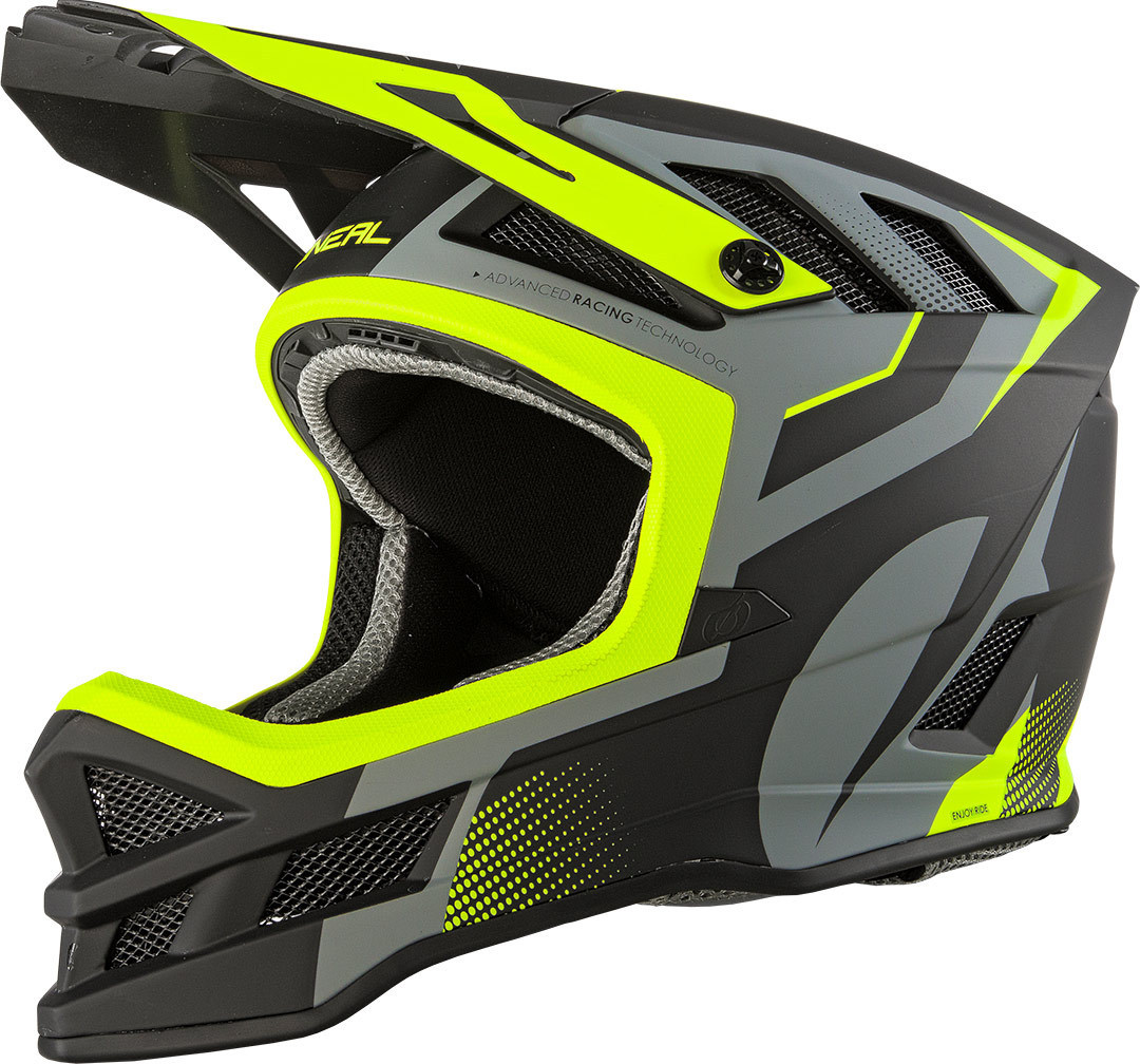 Oneal Blade Hyperlite Oxyd IPX Downhill Helm, schwarz-gelb, Größe M, schwarz-gelb, Größe M