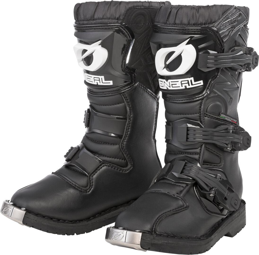 Oneal Rider Jugend Motocross Stiefel, schwarz, Größe 34, schwarz, Größe 34