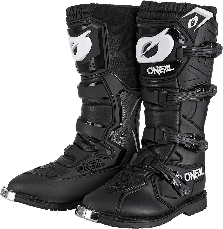 Oneal Rider Pro Motocross Stiefel, schwarz, Größe 44, schwarz, Größe 44