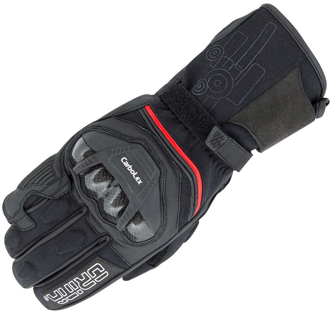 Orina Pro Motorradhandschuhe, schwarz, Größe XL, schwarz, Größe XL