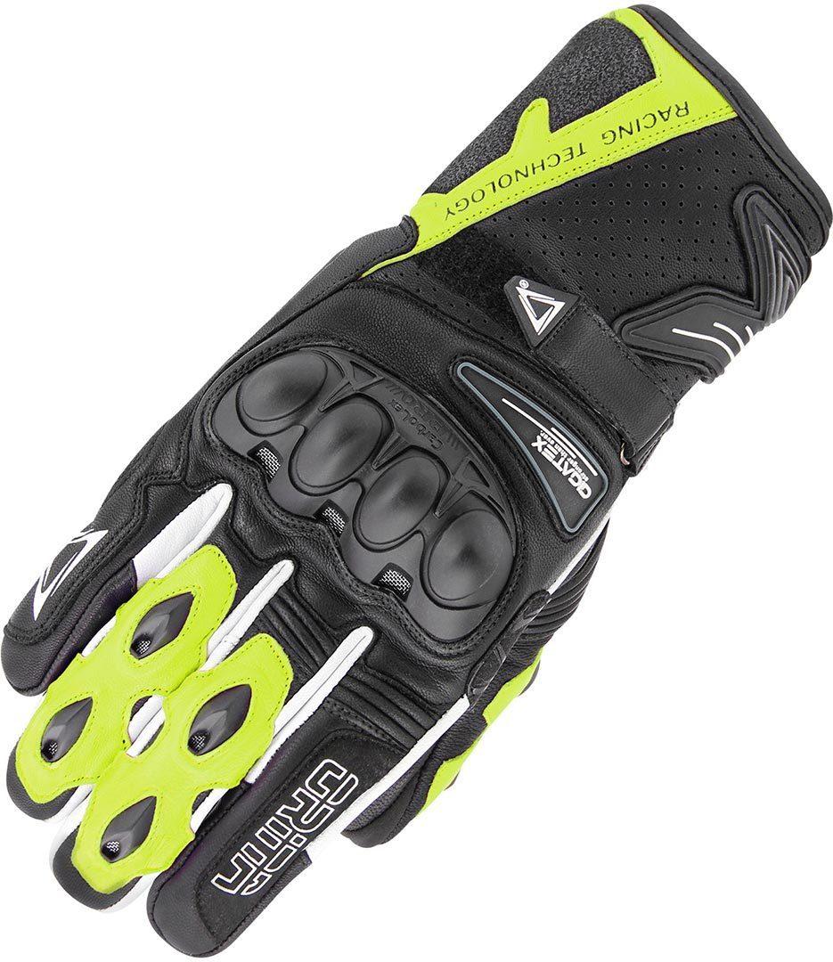 Orina Stream Handschuhe, schwarz-gelb, Größe S, schwarz-gelb, Größe S