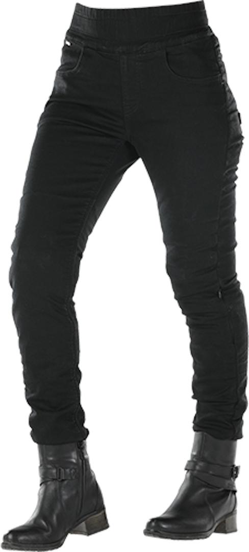 Overlap Jane Damen Motorrad Leggings, schwarz, Größe 29, schwarz, Größe 29