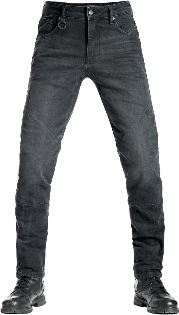 Pando Moto Boss Black 9 Motorradjeans, schwarz, Größe 36, schwarz, Größe 36