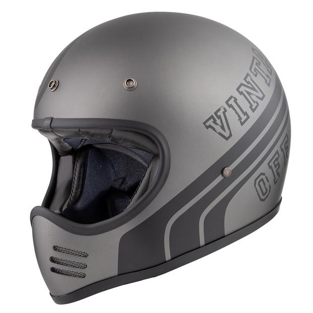 Premier Trophy MX BTR 17 BM Motocross Helm, schwarz-grau, Größe S, schwarz-grau, Größe S