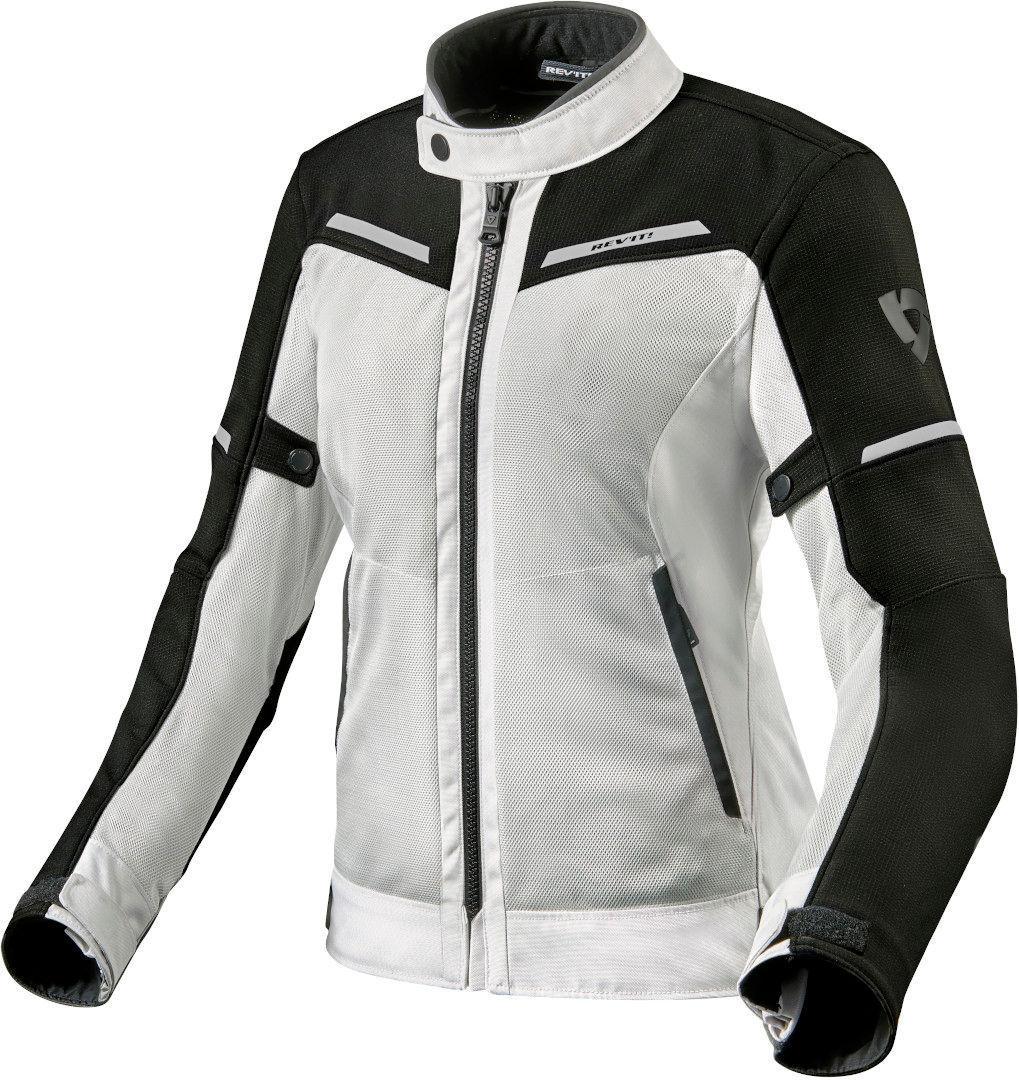 Revit Airwave 3 Damen Motorrad Textiljacke, schwarz-weiss, Größe 44, schwarz-weiss, Größe 44