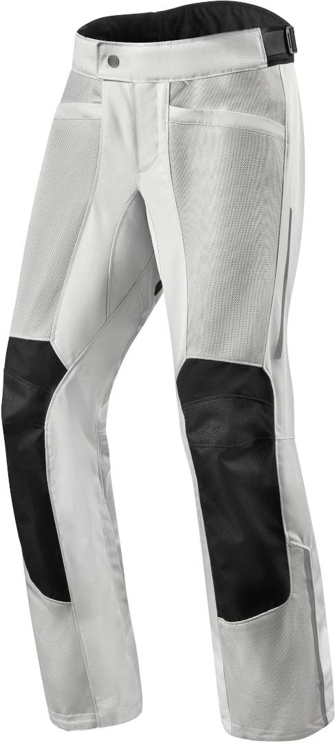 Revit Airwave 3 Motorrad Textilhose, silber, Größe XL, silber, Größe XL