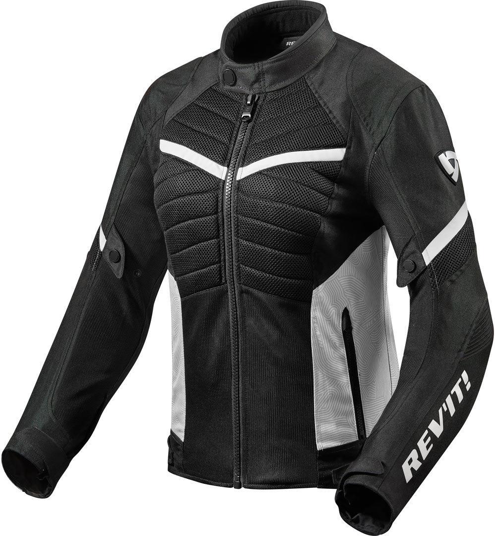 Revit Arc Air Damen Motorrad Textiljacke, schwarz-weiss, Größe 44, schwarz-weiss, Größe 44