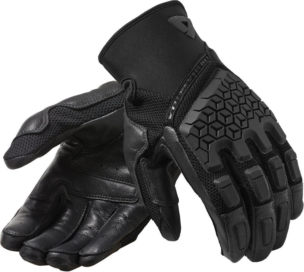 Revit Caliber Motorradhandschuhe, schwarz, Größe L, schwarz, Größe L