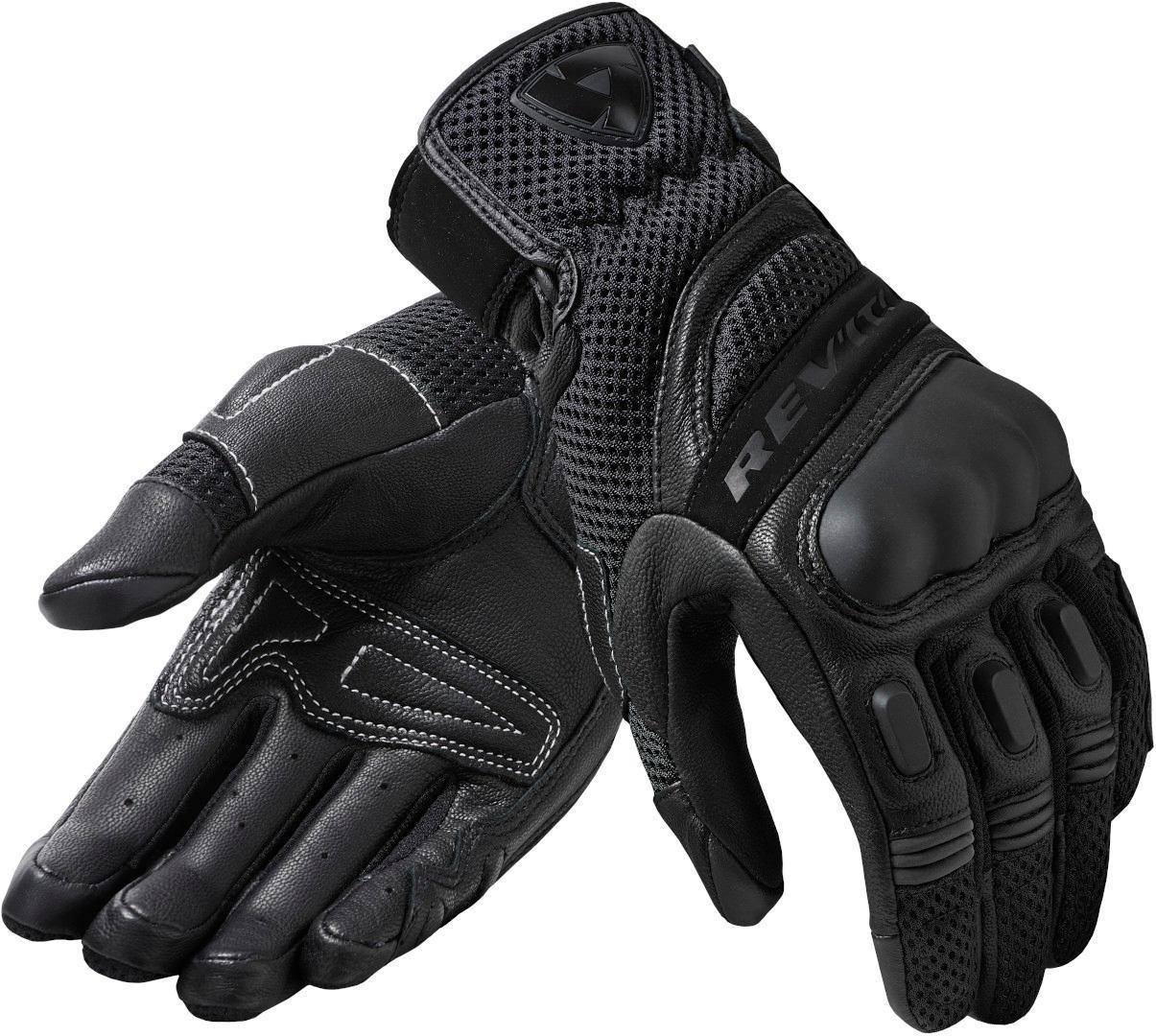 Revit Dirt 3 Damen Motorradhandschuhe, schwarz, Größe M, schwarz, Größe M