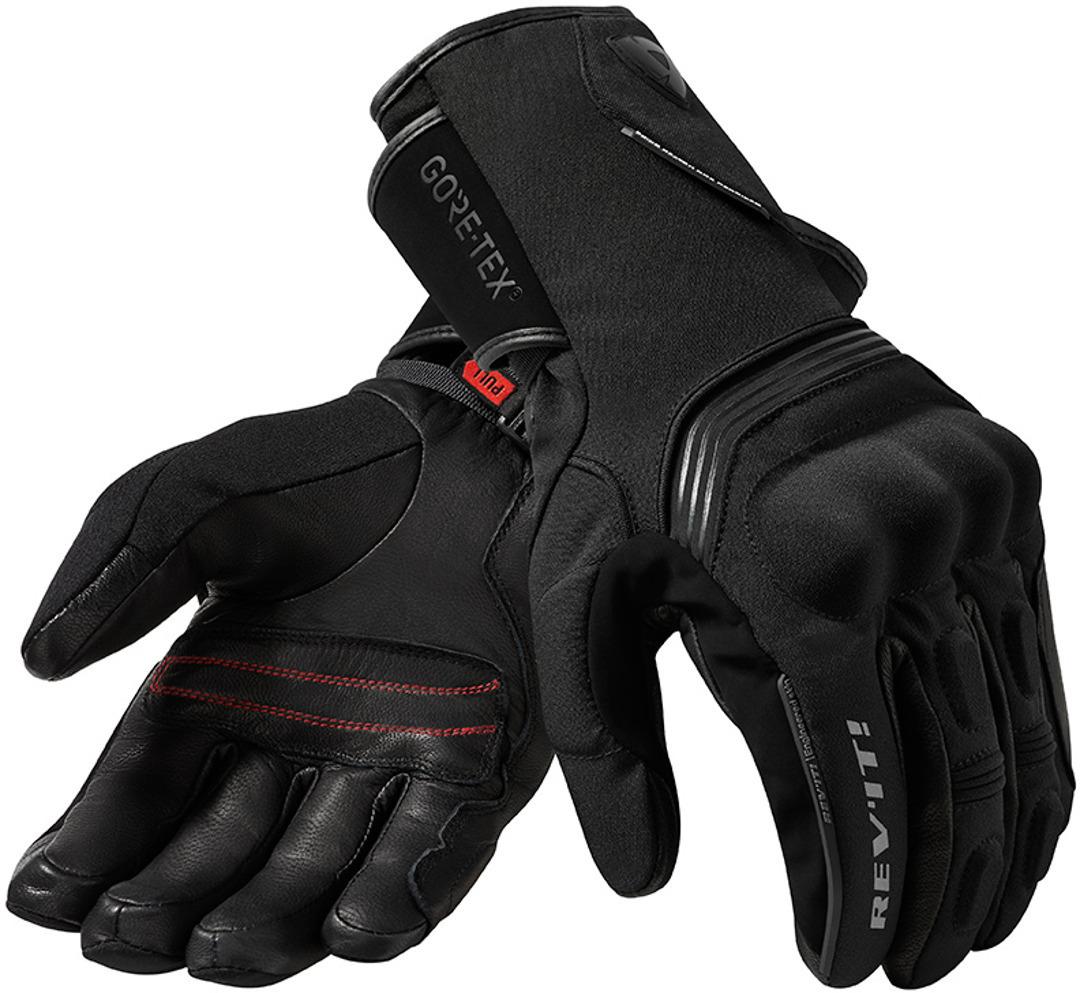 Revit Fusion 2 GTX Motorradhandschuhe, schwarz, Größe 2XL, schwarz, Größe 2XL
