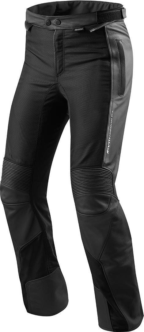 Revit Ignition 3 Motorrad Leder-/Textilhose, schwarz, Größe 60, schwarz, Größe 60