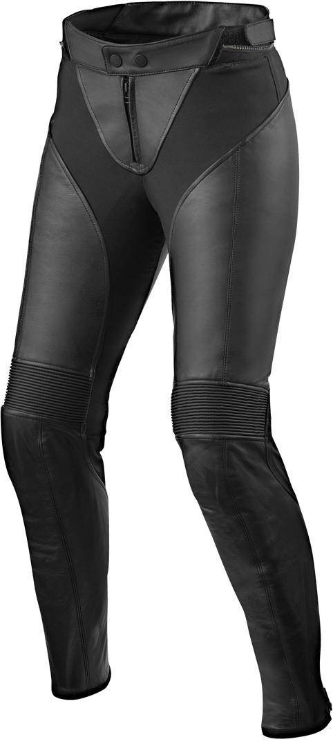 Revit Luna Damen Motorrad Lederhose, schwarz, Größe 36, schwarz, Größe 36