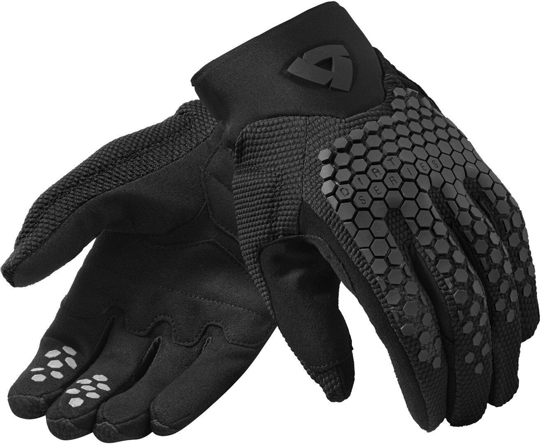 Revit Massif Motorradhandschuhe, schwarz, Größe L, schwarz, Größe L