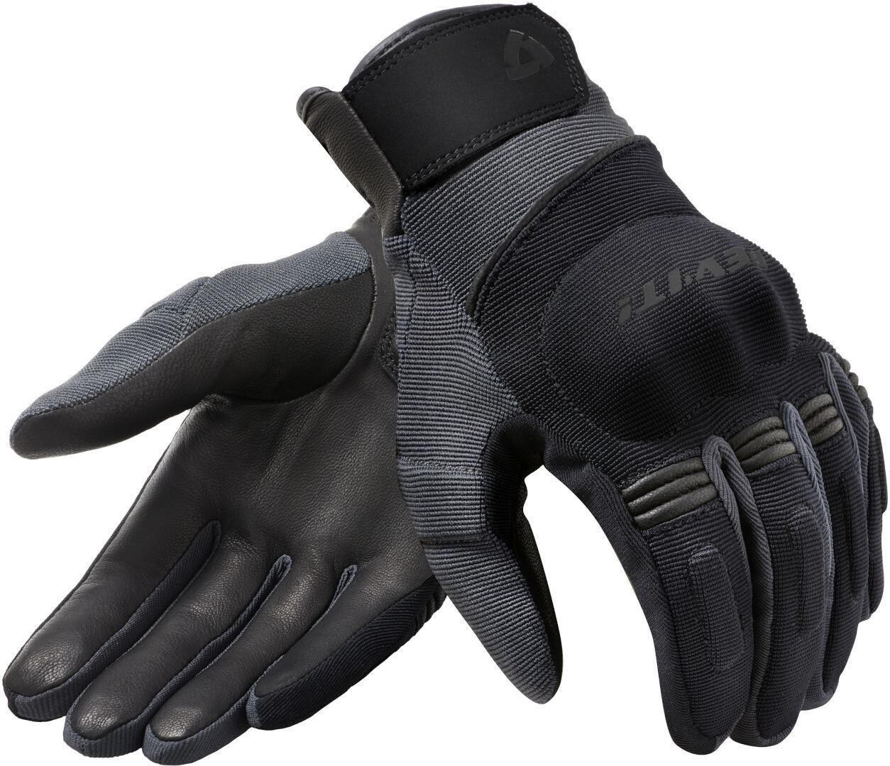 Revit Mosca H2O Motorradhandschuhe, schwarz-grau, Größe XL, schwarz-grau, Größe XL