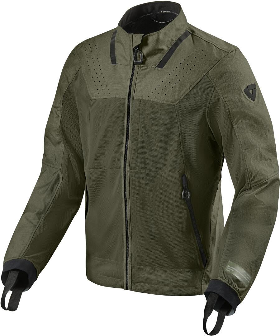 Revit Territory Motorrad Textiljacke, grün, Größe M, grün, Größe M