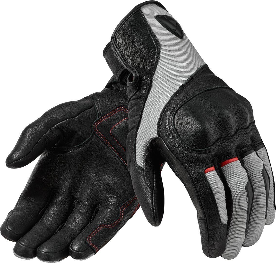 Revit Titan Motorradhandschuhe, schwarz-grau, Größe S, schwarz-grau, Größe S