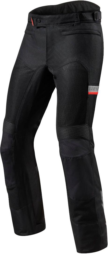 Revit Tornado 3 Motorrad Textilhose, schwarz, Größe 2XL, schwarz, Größe 2XL