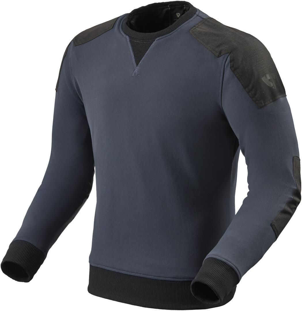 Revit Whitby Motorrad Sweatshirt, blau, Größe L, blau, Größe L