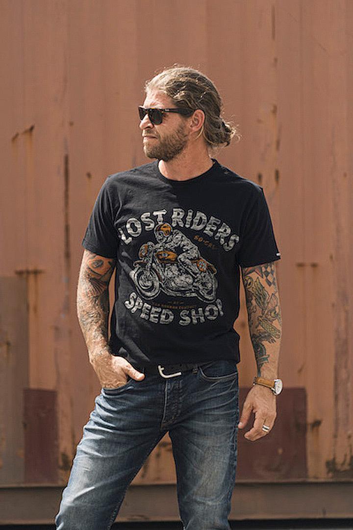 Rokker Lost Riders T-Shirt, schwarz, Größe S, schwarz, Größe S